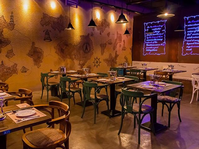 加勒比主题餐厅