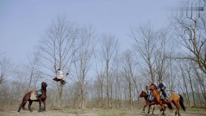 为战神林峯打call!这段骑马的动作戏好燃