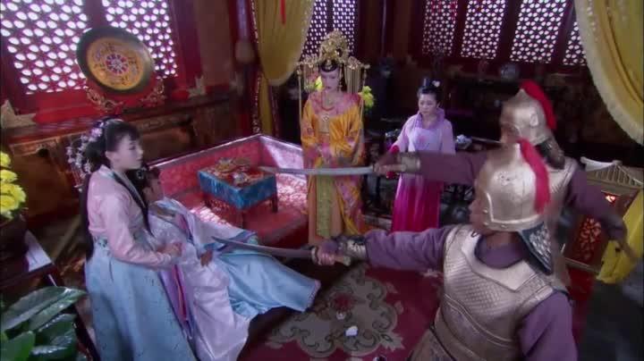 《英雄诀》马皇后将太妃迷昏架到军帐,要挟朱棣不可过江