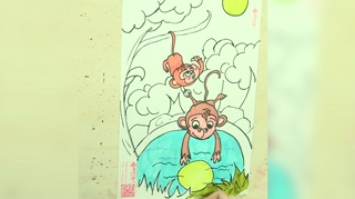 1小猴子捞月亮_20