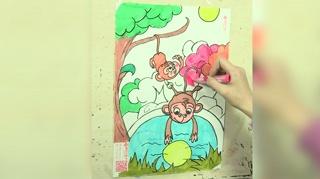 1小猴子捞月亮_26