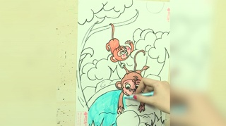 1小猴子捞月亮_16
