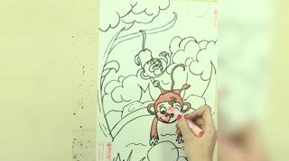 1小猴子捞月亮_14