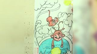 1小猴子捞月亮_19